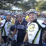 Joe, Doug, Carlos, Me and Cory at the start
