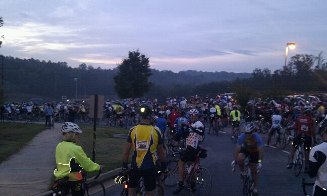 Six Gap Century Ride 2012