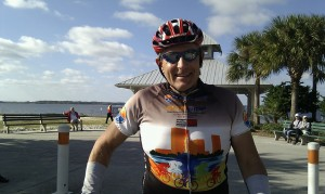 At the finish of the Horrible Hundred 2012