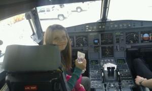 Grace as a jetBlue captain :)