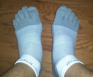 "Injinji socks, or ""toe socks"" feel a little weird at first but they are excellent for running."