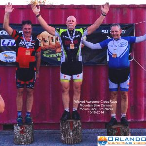 First Cycling Podium