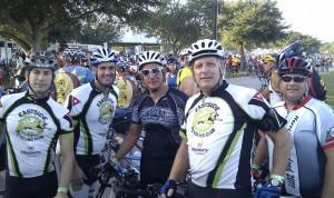 Joe, Doug, Carlos, Me and Cory at the start